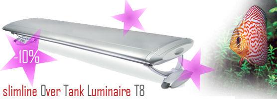 -10% slimline Over Tank Luminaire T8