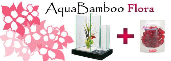Aquarium AquaBamboo Flora
