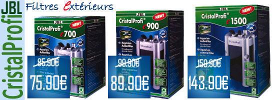 Promo Filtre JBL CristalProfi e