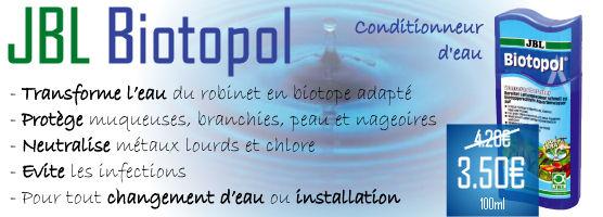 JBL Biotopol 100 ml à 3,50 € au lieu de 4,20 €