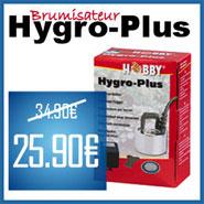 Hygro-Plus, brumisateur pour terrarium à 25,90 € au lieu de 34,90 €