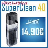 Promo Filtre SuperClean 40