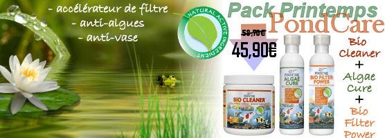 Pack printemps Pondcare - Promo