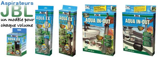 Aspirateurs JBL pour aquarium