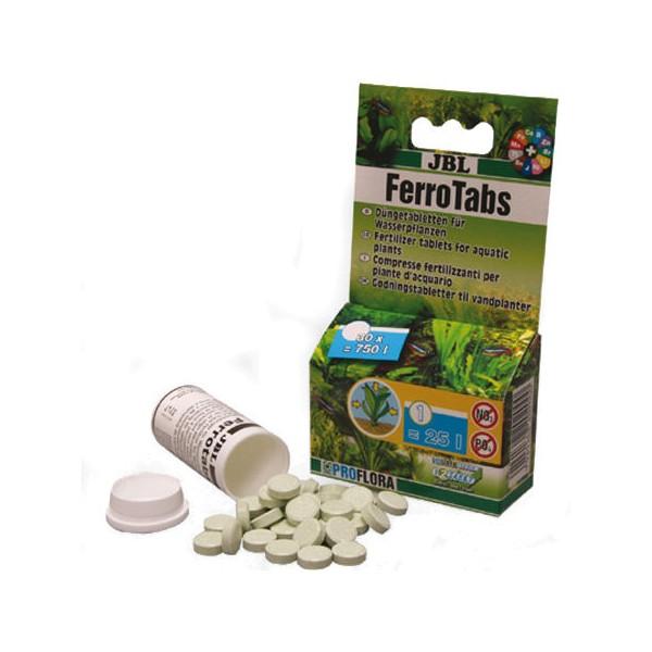 jbl ferrotabs pastilles d engrais pour plantes d aquarium