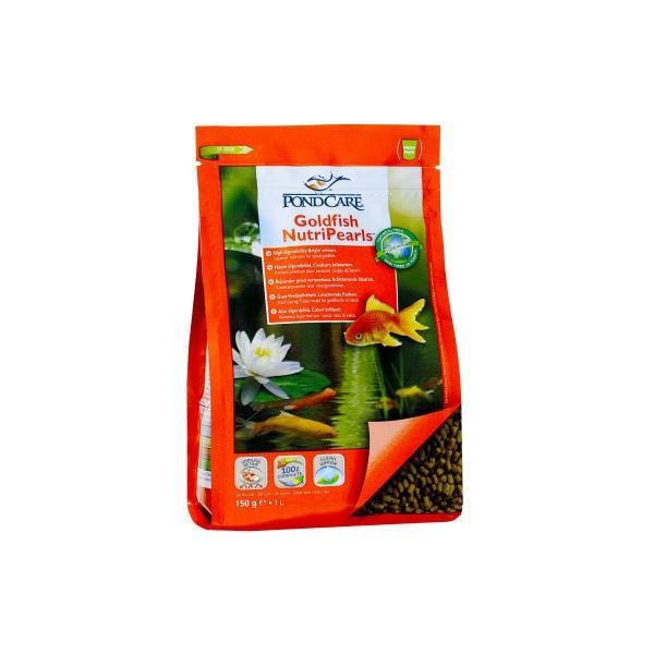 Pondcare goldfish nutripearls aliment pour poissons for Filtre bassin poissons rouges