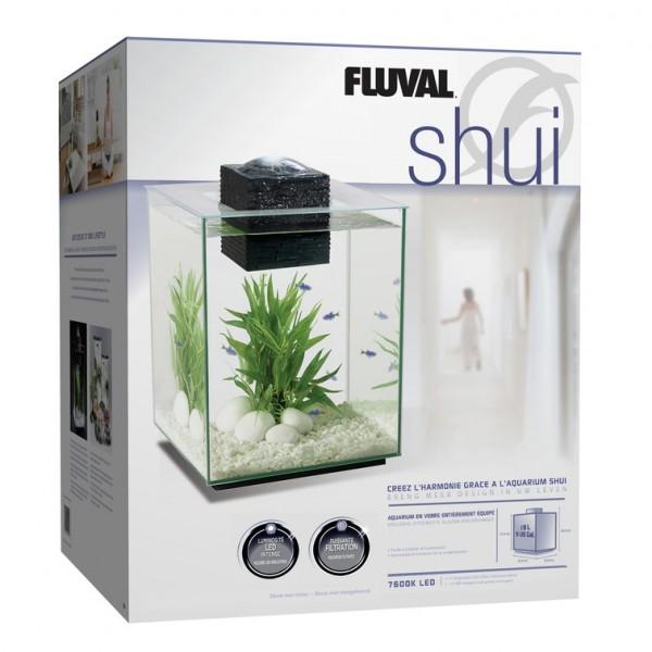 aquarium d coratif fluval shui 19l. Black Bedroom Furniture Sets. Home Design Ideas