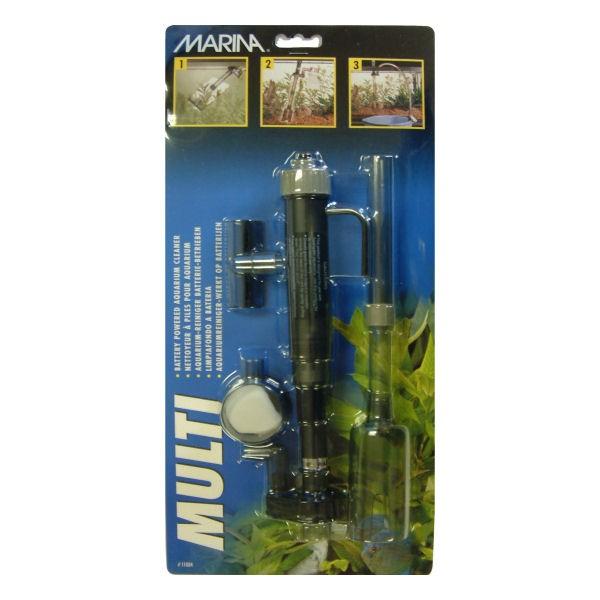 Marina aspirateur piles pour aquarium for Aspirateur aquarium