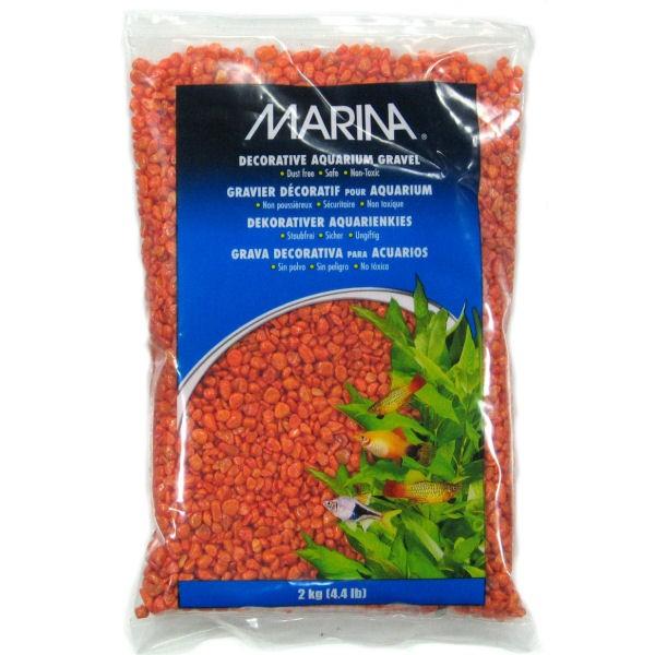 Marina gravier deco orange pour aquarium - Gravier pour aquarium ...