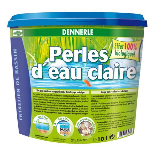 Dennerle perles d 39 eau claire pour bassin de jardin for Accessoire pour bassin d eau