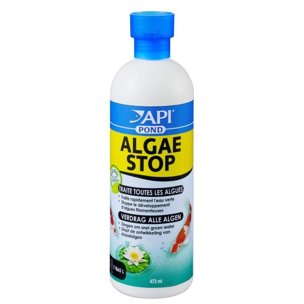 Api pond algae stop anti algues pour bassin de jardin for Algues bassin de jardin
