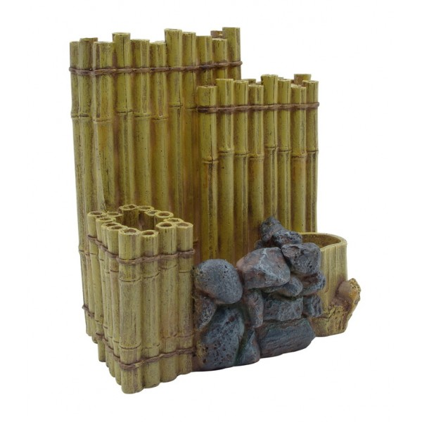 decor bambou pour aquarium fluval edge. Black Bedroom Furniture Sets. Home Design Ideas