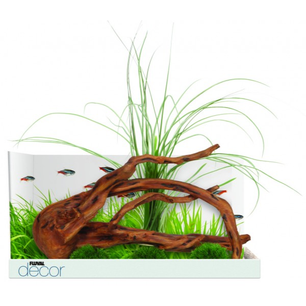 Fluval decor racine et plantes d coration pour aquarium for Racine pour aquarium