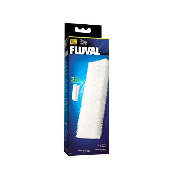 Fluval bloc de mousse pour filtre 204 205 206 et 304 305 306 - Bloc de mousse pour coussin ...