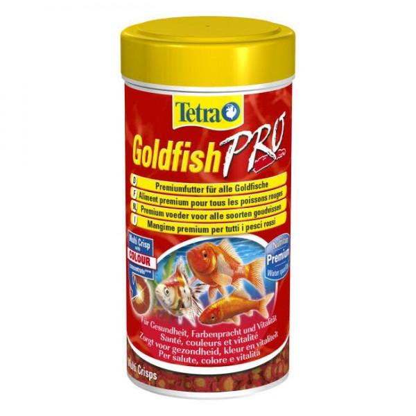 Tetra goldfish pro aliment en crisps pour poissons d 39 eau for Poisson tetra rouge