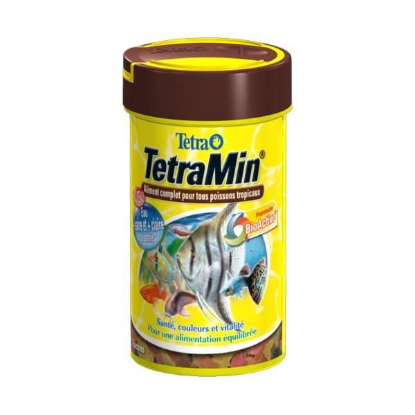 Tetramin aliment pour poissons tropicaux for Poisson tropicaux pour aquarium