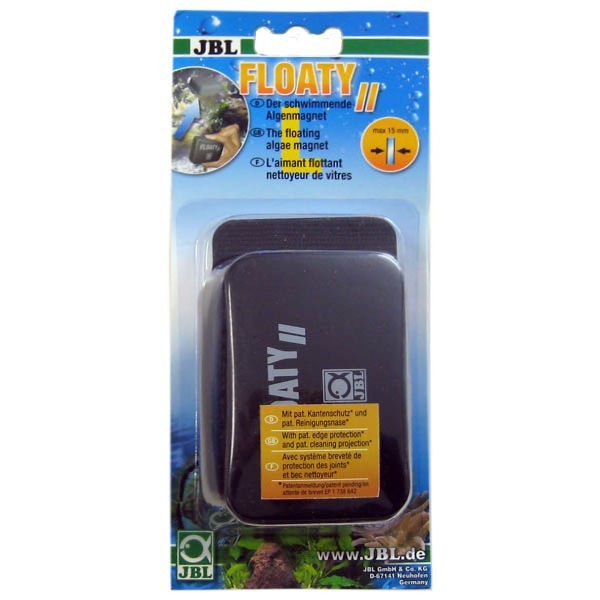 Jbl floaty ii l aimant nettoyeur flottant pour aquarium for Jbl aquarium