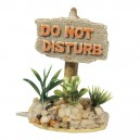 Decor Panneau Do Not Disturb pour aquarium